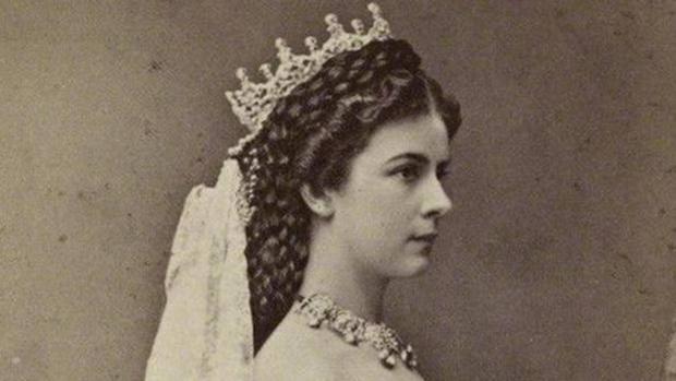 La emperatriz el día de su coronación