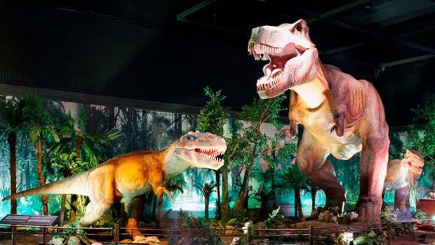 La exposición de los dinosaurios animatrónicos que se podrá visitar en Córdoba