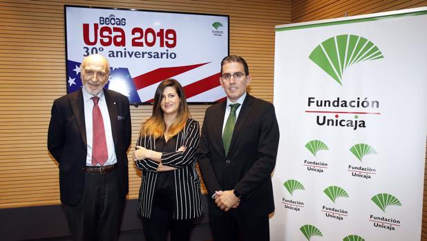 Presentación de las Becas USA 30º aniversario de la Fundación Unicaja