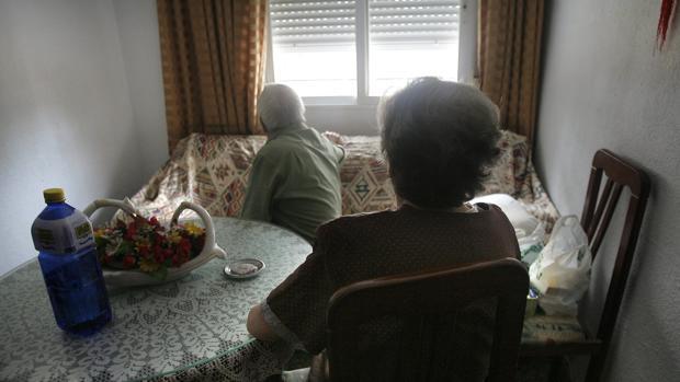 Un matrimonio cordobés que ha solicitado el servicio de Dependencia