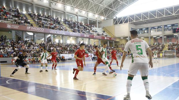 El Córdoba CF Futsal, en el partido del sábado ante el