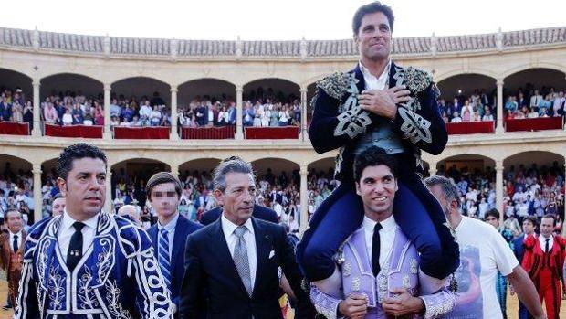 Francisco Rivera se retiró de los ruedos en la Goyesca de Ronda en 2017
