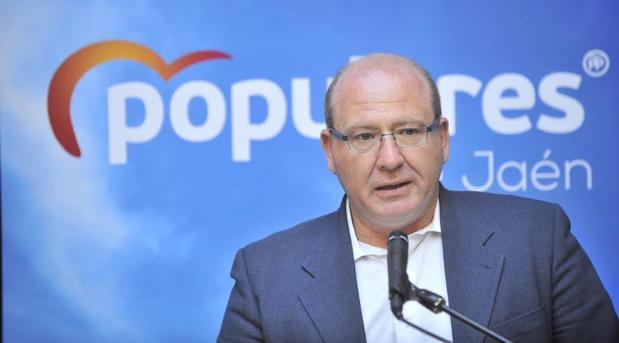 Javier Márquez, portavoz del grupo popular del Ayuntamiento de Jaén