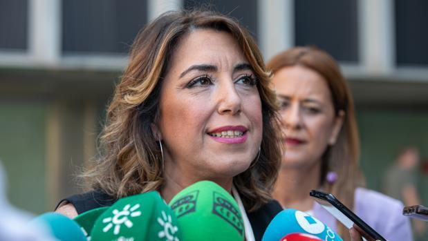 La secretaria general del PSOE andaluz, Susana Díaz, en una imagen reciente.