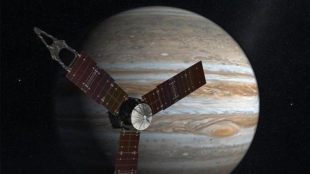 Recreación de la nave Juno