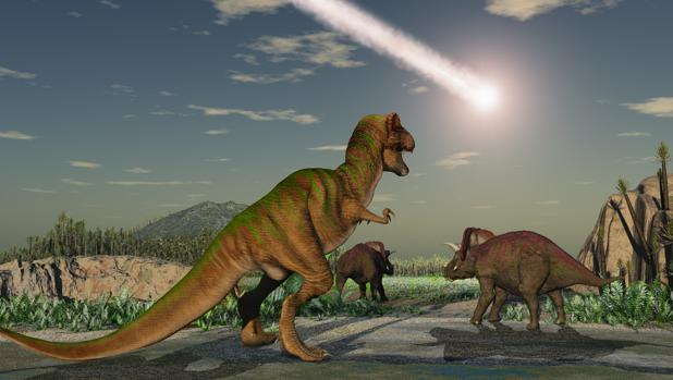 Un asteroide provocó la extinción de los dinosaurios hace unos 66 millones de años