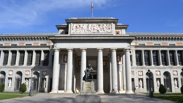Entrada del Museo del Prado
