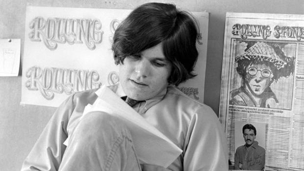 Jann Wenner, fundador de «Rolling Stone» en una escena del documental sobre la revista