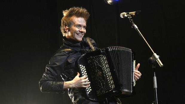 Michel Teló en uno de sus conciertos