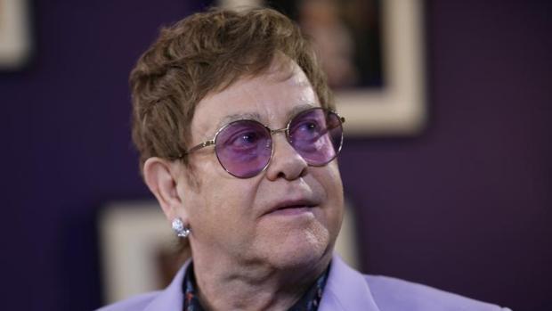 El artista británico Elton John