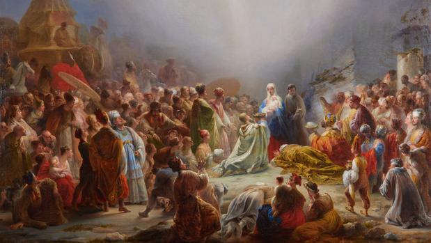 «La Adoración de los Reyes Magos», de Domingos Sequeira