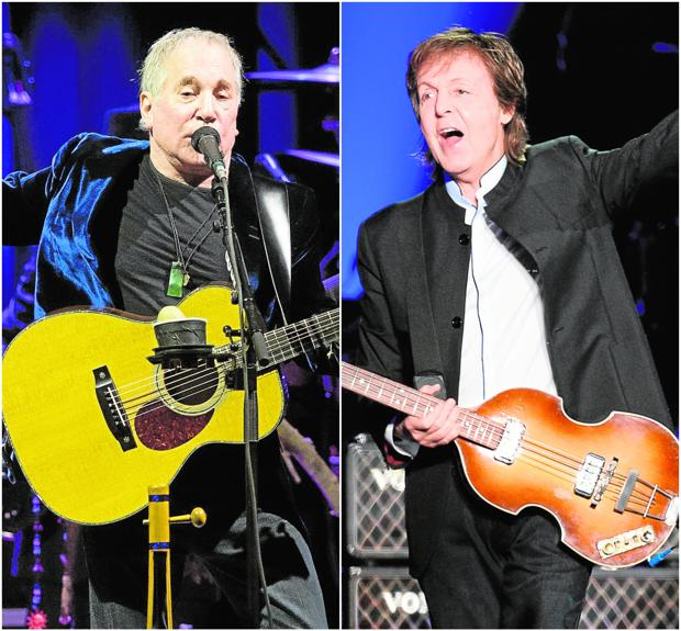 Paul Simon y Paul McCartney, los San Pablos del pop