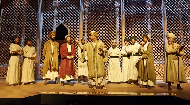 Escena del musical «El médico»