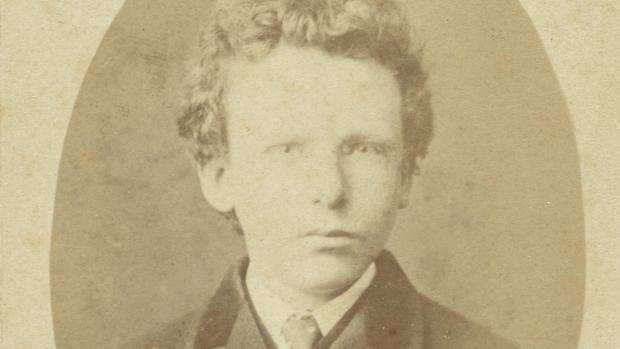 Se creía que esta era la fotografía de un jovencísimo Vincent van Gogh, pero en realidad es una imagen de su hermano Theo