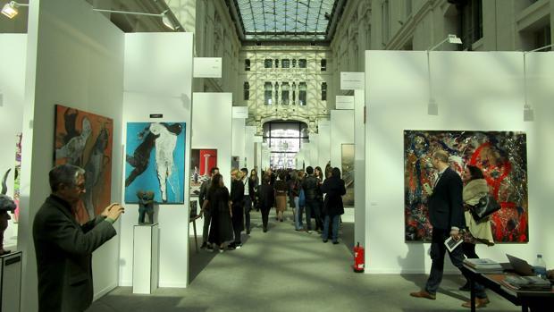 La Galería de Cristal del Palacio de Cibeles acoge la 14ª edición de Art Madrid