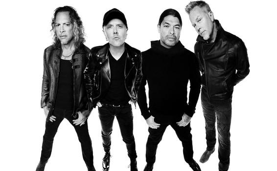 Kirk Hammett, Lars Ulrich, Robert Trujillo y James Hetfield llegan a España este fin de semana