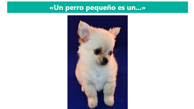 Captura de pantalla de la aplicación «Dialectos del español»