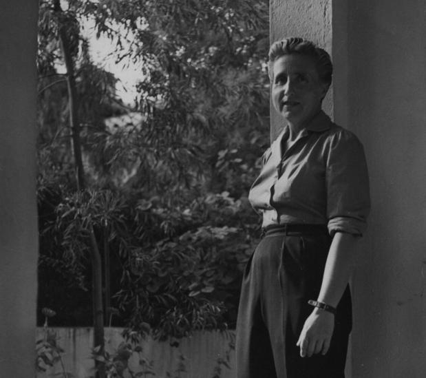 Ana María Martínez Sagi, a finales de los años 40