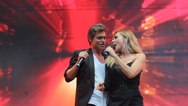 Carlos Baute y Marta Sánchez