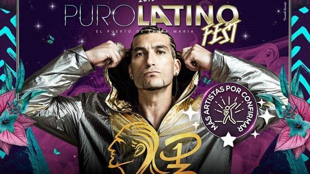 Presentación de Pinto 'Wahin' en el Puro Latino Fest.