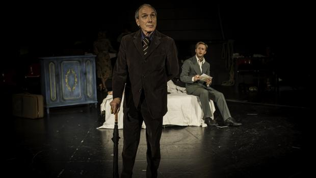 Eusebio Poncela y Pablo Rivero, en una escena de «El sirviente»