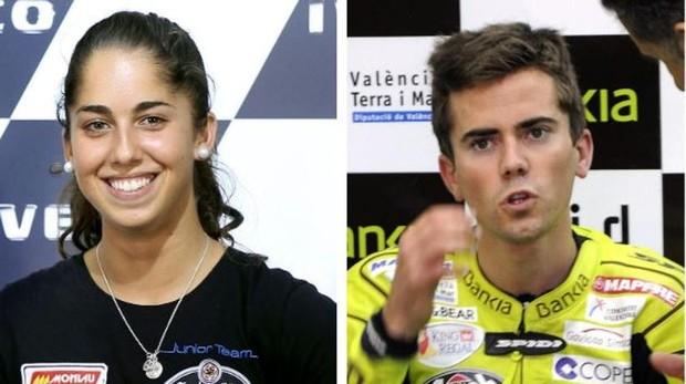 Los nuevos pilotos españoles de MotoE, María Herrera y Nico Terol