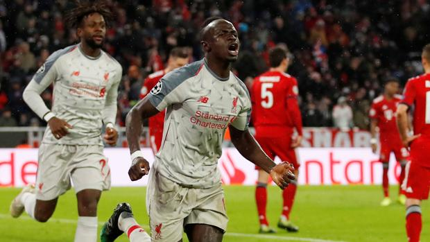 El Liverpool completó el pleno inglés en cuartos de la Champions