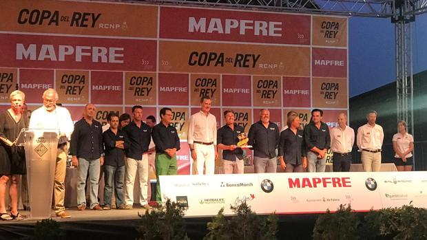 El Brujo del gaditano Federico Linares brilló en la XXXVIII Copa del Rey Mapfre.