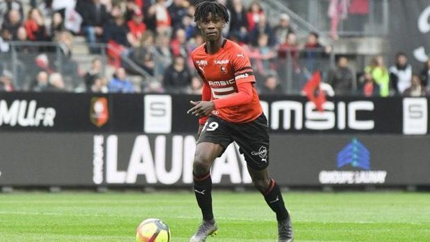 Camavinga, centrocampista del Rennes de 16 años