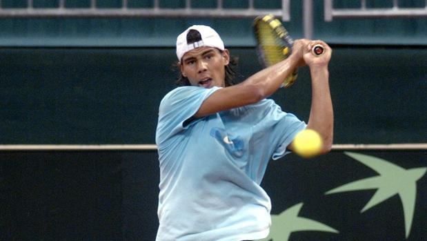 Rafael Nadal jugó la Copa Sevilla en el año 2001