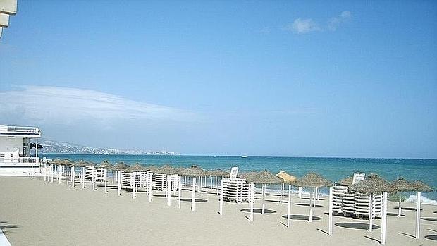 La Costa del Sol es uno de los destinos escogidos por los españoles en estas fechas. En la imagen, una Playa de Fuengirola