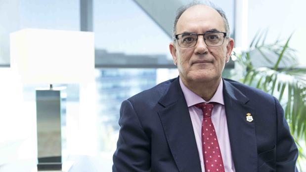 Luis Campos Villarino, presidente de A.M.A.