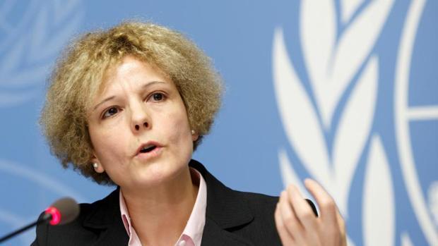 La experta en salarios de la oficcina de la Organización Mundial del Trabajo (OIT) Rosalía Vázquez-Álvarez