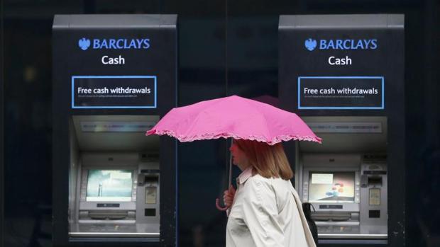 Cajeros de Barclays