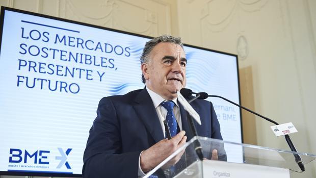 Javier Hernani, consejero delegado de Bolsa y Mercados Españoles