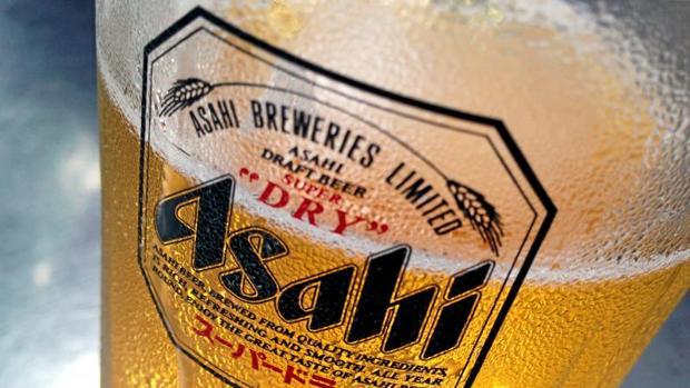 Cerveza del grupo japonés Asahi