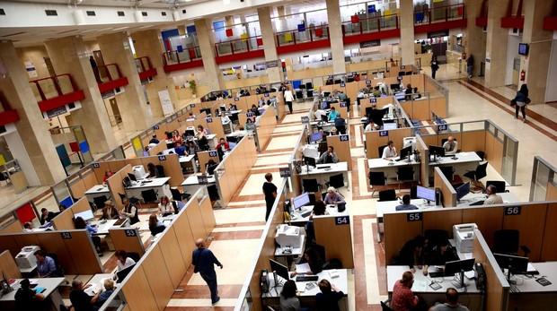Oficina madrileña de la Agencia Tributaria