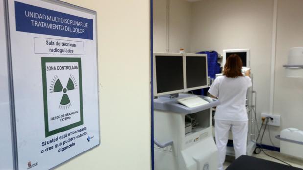 Consulta de la Unidad del Dolor en los hospitales de Valladolid