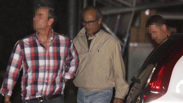 Edmundo Rodríguez, el día de su detención tras destaparse la operación Lezo
