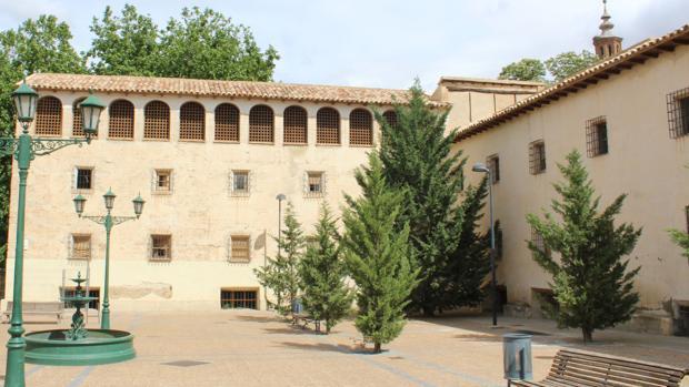 Imagen del antiguo convento de San Joaquín, que lleva años en proceso de rehabilitación