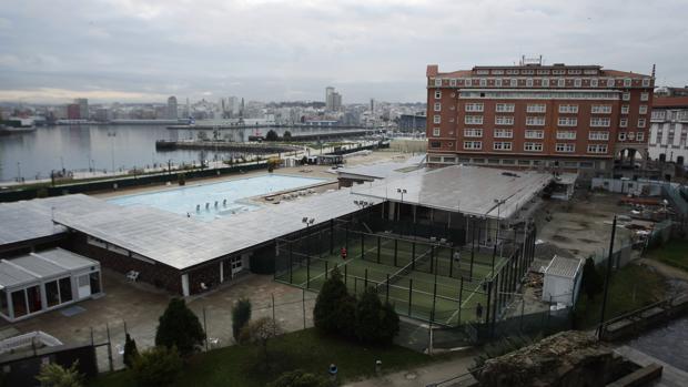 Terrenos de La Solana, en la zona portuaria de La Coruña