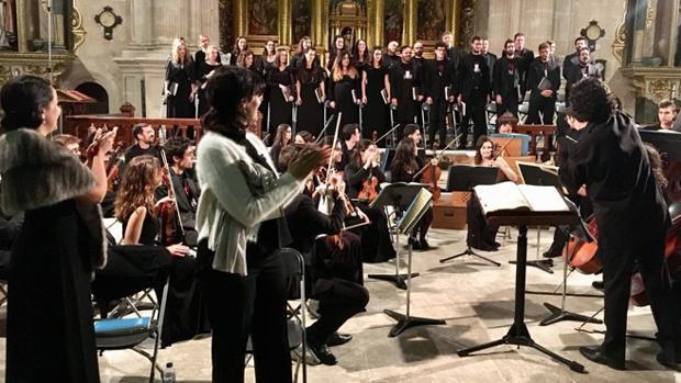 Una de las interpretaciones del Mesías a cargo de la Academia de la Semana de Música Religiosa de Cuenca