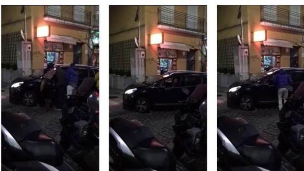 Miguel Ángel Revila, en el vídeo donde se le ve en dirección contraria