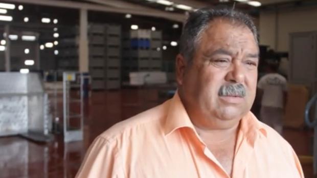 Abndrés Cedrés, presidente de la Organización de Productos de Pesca Fresca de Lanzarote