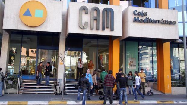 Sede central de la antigua CAM, en Alicante