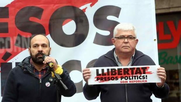 Los nuevos líderes de la Òmnium y la ANC, Marcel Mauri y Agustí Alcoberro
