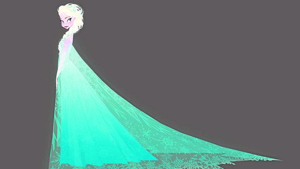 Un dibujo para «Frozen» (2013)