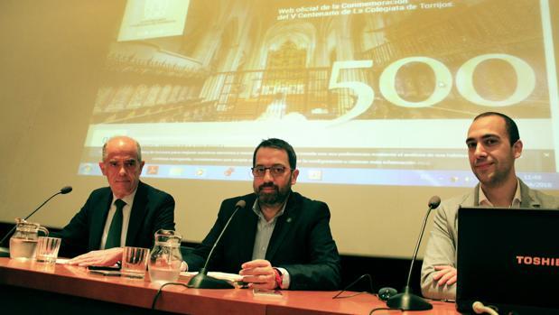 Jesús Carrobles, Anastasio Arevalillo y Fernando De Miguel