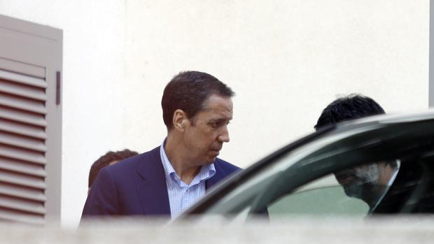 Imagen de Zaplana tomada el día de su detención