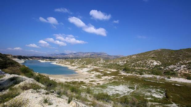 Embalse de la Pedrera, en la provincia de Alicante